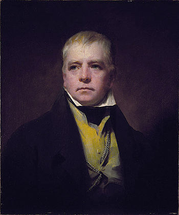 English: Portrait of Walter Scott (1771 - 1832...