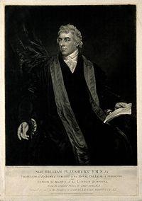 Sir William Blizard. Mezzotint by S. W. Reynolds after J. Op Wellcome V0000593.jpg