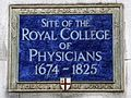 Site of the Royal College of Physicians 1674 - 1825.jpg