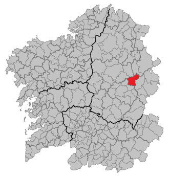 Baralla - Location of Baralla
