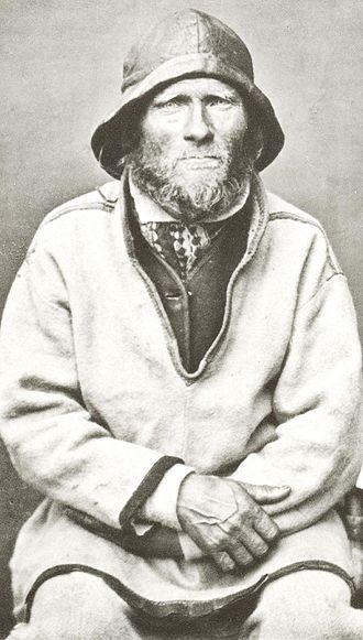History of Scandinavia - Ivar Samuelsen, Sea Saami (Sami, Sapmi) Man from Finnmark in Norwegian Lapland.