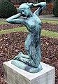 Skulptur Stadtpark Steglitz (Stegl) Erwachsenes Mädchen Julius Limburg 3.jpg