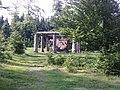 Skulptur Stein, Zeit, Mensch, Waldskulpturenweg, Juni 2010 (4749603593).jpg