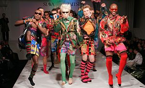 English: Slava Zaitsev fashion show
