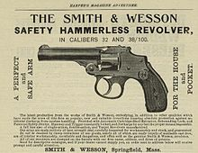 Smith & Wesson Safety Hammerless - Wikipedia