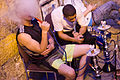 Smoking Hookah in the Muslim Quarter Jerusalem during Ramadan.jpg