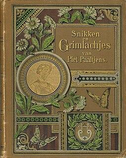 Snikken en grimlachjes poetry anthology by Piet Paaltjens