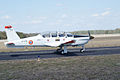 Socata TB-30 Epsilon Taxi Out TICO 13March2010 (14412874720).jpg