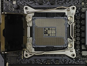 LGA 2066 - Image: Socket 2066 IMGP5870 smial wp