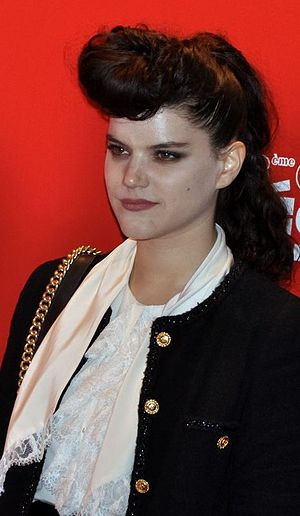Soko (singer) - Soko during the Césars Awards
