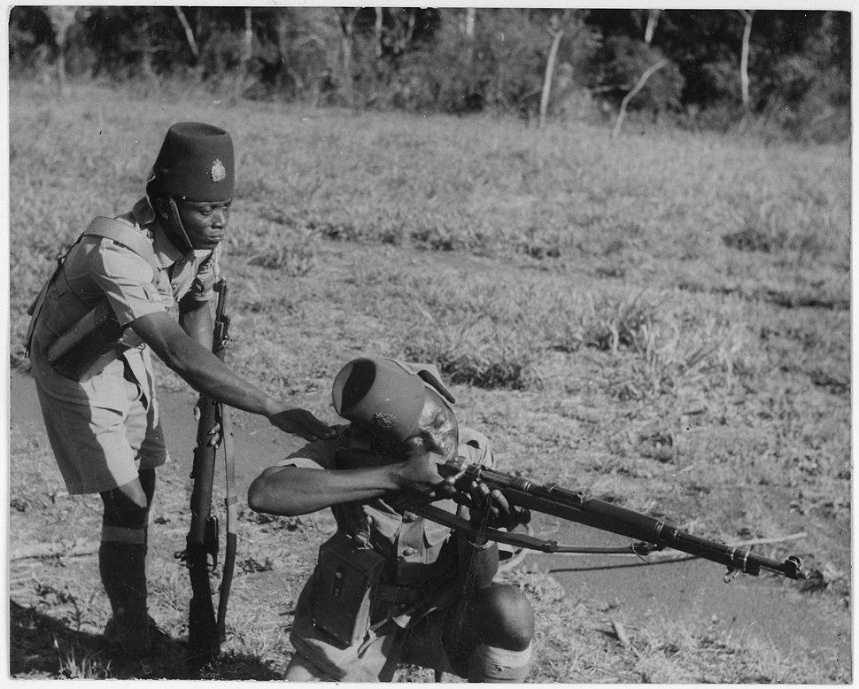 Soldiers in the Belgium Congo - NARA - 197079