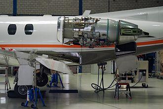 Pratt & Whitney Canada JT15D - Cessna Citation installation