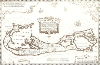 Somers Isles Company - Map by John Speed, 1676.