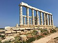 Sounion Temple Poseidon Sanctuary 3.jpg