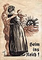 South Tyrolean Option Agreement Nazi propaganda Heim ins Reich poster 1939-40.jpg