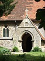South door, St Peter's, Little Wittenham - geograph.org.uk - 809832.jpg