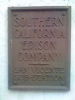 Southern California Edison electrical utility in Southern California, USA