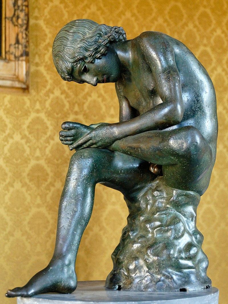 La tireuse d'épine  800px-Spinario_Musei_Capitolini_MC1186_n4
