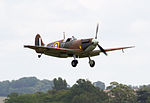 Spitfire Mk1A coming into Land (5927185808).jpg