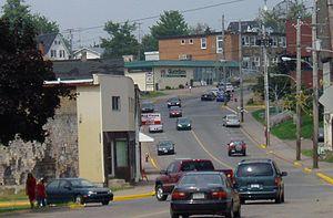 Springhill, Nova Scotia - Main Street, Springhill