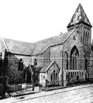 St. Peter's Church, Aungier Street, Dublin - Image: St Peters Dublin 1880