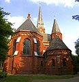 St.Lorenz-Kirche neuerer Bau um 1880.jpg
