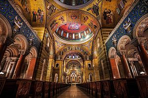 Cathedral Basilica of Saint Louis (St. Louis) - Interior of the Cathedral