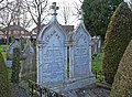 St. Mary Magdalene Churchyard, Knighton - geograph.org.uk - 1185110.jpg