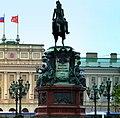 St. Petersburg - Monument Tsar Nicholas l. - Памятник царю Николаю I. - panoramio.jpg