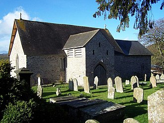 Saint Eigen - The parish church of Saint Eigon in Llanigon, Wales