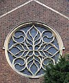 St Francis of Assisi Church, Great West Road, Isleworth, London TW7 - Rose window - geograph.org.uk - 1058835.jpg