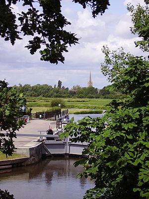 Lechlade - St John's Lock, near Lechlade