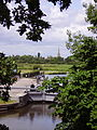 St John's Lock and Lechlade in background.JPG
