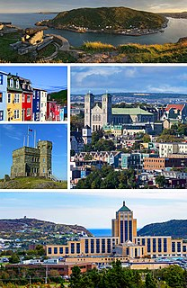St. Johns, Newfoundland and Labrador Capital of Newfoundland and Labrador, Canada