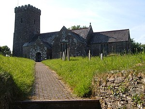 Woodleigh, Devon - St Mary's church, Woodleigh