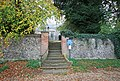 St Mary, Denton, Norfolk - Church gate - geograph.org.uk - 1562064.jpg