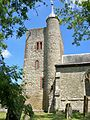 St Peter and St Paul, Yalding, the tower 1.JPG