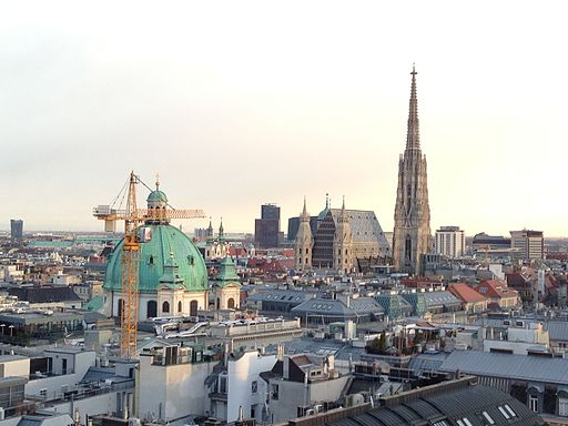 St Stephans Vienna from Hoch Haus - 2 (11254883555)