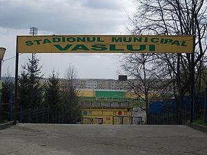 Stadionul Municipal (Vaslui) - Image: Stadionul Vaslui