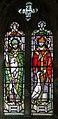 Stained glass window, St John the Baptist, Colsterworth, Lincs (16171236899).jpg