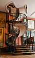 Stair of Moreau museum, Paris 2 June 2014.jpg