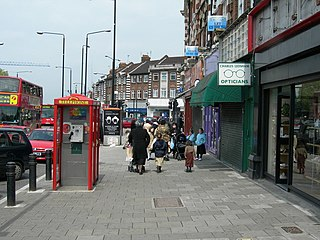 Stamford Hill neighbourhood in Hackney, East London