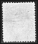 Stamp US 1868 1c Z grill Miller backside.jpg