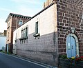 Starcross pumping engine house, side view from the village, South Devon.jpg