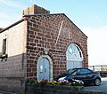 Starcross pumping engine house, view of entrance from the village, South Devon.jpg