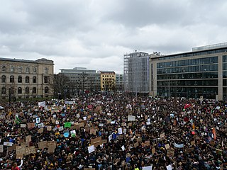 Fridays for Future protest in Berlin 15 March 2019