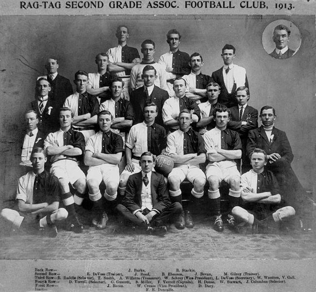 Statelibqld 1 99600 rag tag second grade association football club