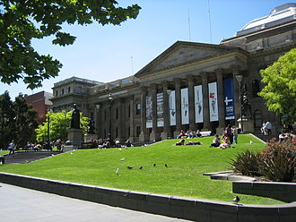 State Library of Victoria - Image: State Libraryof Victoria, Oct 2005