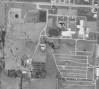 State Fair Community College - Aerial photo of the campus