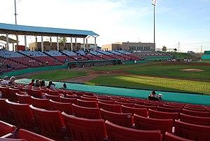 Adelanto Stadium - Image: Stater Bros Stadium